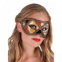 Antifaz de carnaval veneciano elegabte para mujer - Imagen 2
