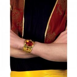 Pulsera persa con diamante rojo para adulto - Imagen 2