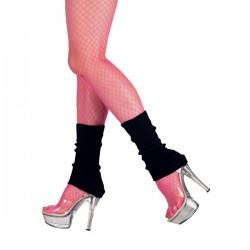 Calentadores negros cortos para mujer - Imagen 2