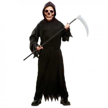 Disfraz de muerte tenebrosa para niño - Imagen 1