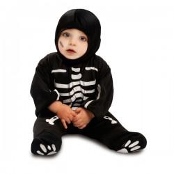 Disfraz de esqueleto adorable para bebé - Imagen 1