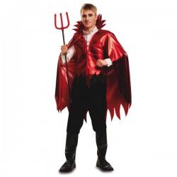 Disfraz de demonio aterrador para hombre - Imagen 1