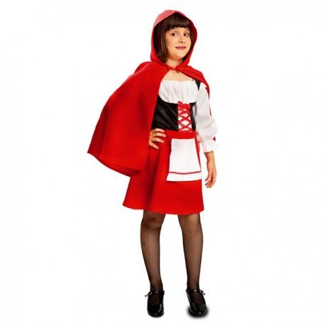 Disfraz de Caperucita en el bosque para niña - Imagen 1