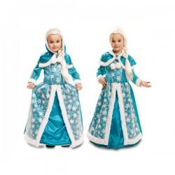 Disfraz de reina del hielo gélido para niña - Imagen 1
