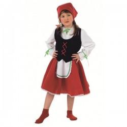 Disfraz de pastorcita niña - Imagen 1