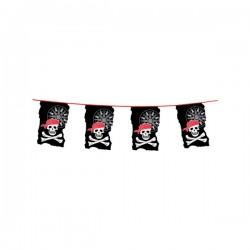 Guirnalda de banderines piratas - Imagen 2