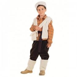 Disfraz de pastorcito niño - Imagen 1