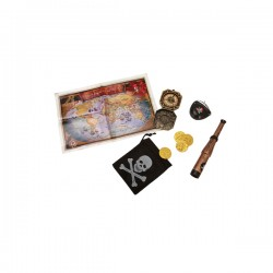 Kit de pirata en busca del tesoro - Imagen 1