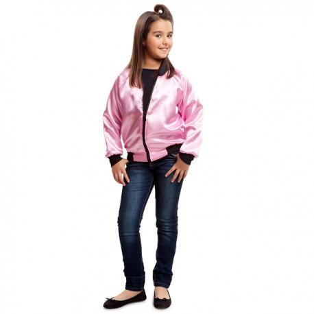 Chaqueta de pink lady 50s para niña - Imagen 1