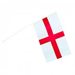 Bandera de Inglaterra de mano - Imagen 1