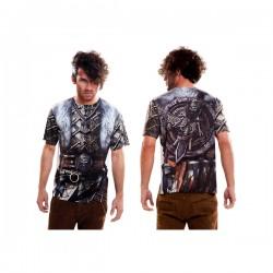 Camiseta de vikingo furioso para hombre - Imagen 1