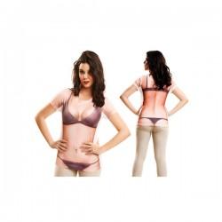 Camiseta de chica en paños menores para mujer - Imagen 1