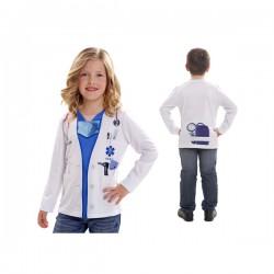 Camiseta de doctor infantil - Imagen 1