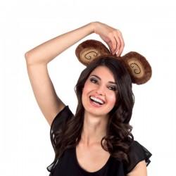 Diadema de orejas de mono para mujer - Imagen 2