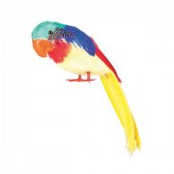 Figura decorativa de loro multicolor - Imagen 2