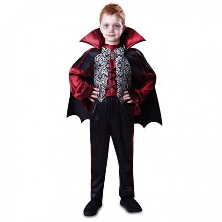 Disfraz de conde vampiro para niño - Imagen 1