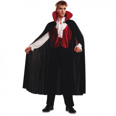 Disfraz de vampiro gótico para hombre - Imagen 1