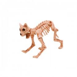 Figura decorativa de esqueleto de gato - Imagen 1