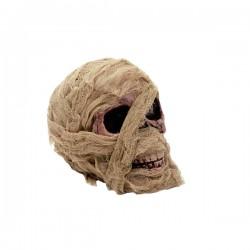 Calavera de momia decorativa - Imagen 1