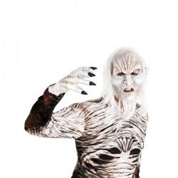 Máscara de caminante blanco para adulto - Imagen 1