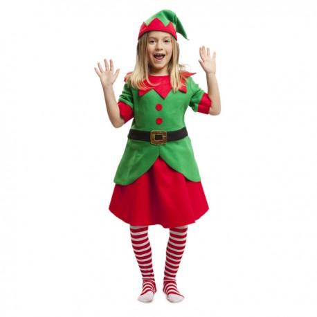 Disfraz de elfa ayudante niña - Imagen 1