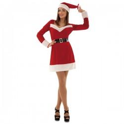 Disfraz de Mamá Noel invernal para mujer - Imagen 1