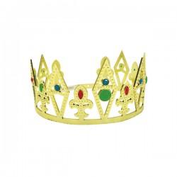 Corona de rey ostentosa para adulto - Imagen 1