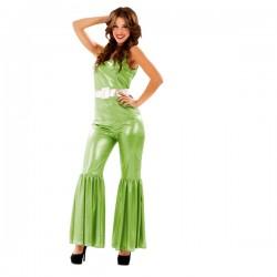 Disfraz de reina disco para mujer - Imagen 1