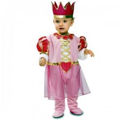 Disfraz de princesita rosa para bebé - Imagen 1