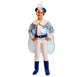 Disfraz de príncipe azul para niño - Imagen 1
