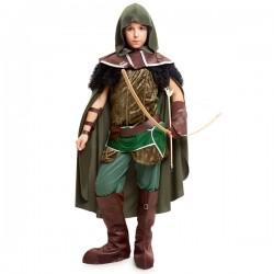 Disfraz de justiciero del bosque para niño - Imagen 1