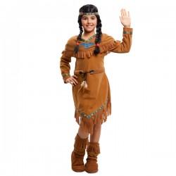 Disfraz de india apache para niña - Imagen 1