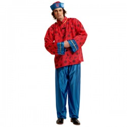 Disfraz de chino mandarín para hombre - Imagen 1