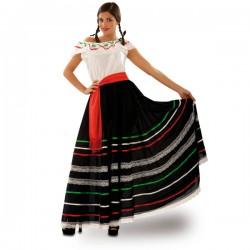 Disfraz de mexicana de cantina para mujer - Imagen 1