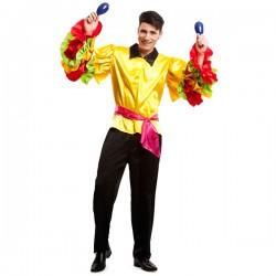 Disfraz de rumbero para hombre - Imagen 1