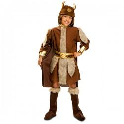 Disfraz de vikingo bravo para niño - Imagen 1