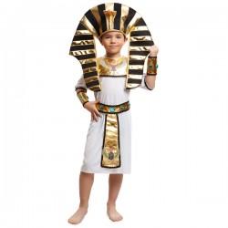 Disfraz de rey del Nilo para niño - Imagen 1