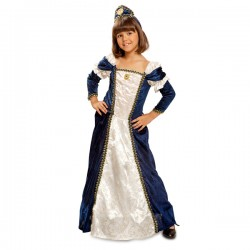 Disfraz de dama medieval para niña - Imagen 1