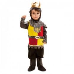 Disfraz de rey batallador para niño - Imagen 1
