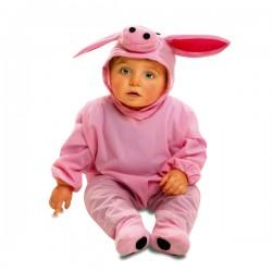 Disfraz de cerdito de granja para bebé - Imagen 1