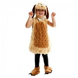 Disfraz de perro de peluche infantil - Imagen 1