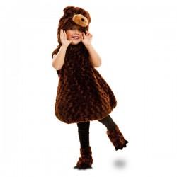 Disfraz de oso pardo de peluche infantil - Imagen 1