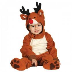 Disfraz de reno adorable para bebé - Imagen 1