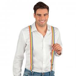 Tirantes de arcoíris para adulto - Imagen 2