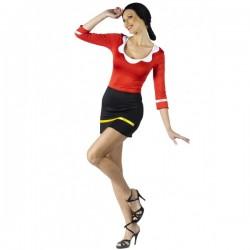 Disfraz de Olivia de Popeye Sexy - Imagen 1