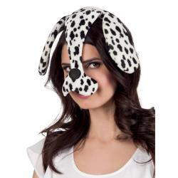 Orejas y nariz de dálmata para mujer - Imagen 2