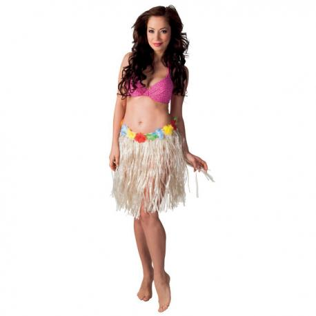 Falda hawaiana para mujer - Imagen 2