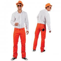 Pantalones naranjas para hombre - Imagen 2