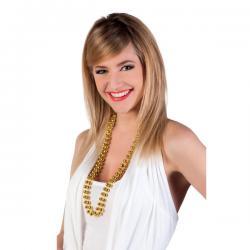 Collares de perlas dorados para mujer - Imagen 2
