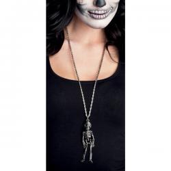 Collar de esqueleto mejicano para mujer - Imagen 2